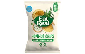 Eat Real - Vending - Hummus - Sour Cream&Chive - 24x25g