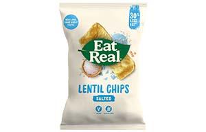 Eat Real - Vending - Lentil - Sea Salt - 24x22G