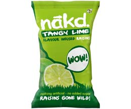 Nakd Raisins - Lime - 18x25g Bag