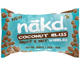 Nakd Nibble Bag - Coconut Bliss - 18x40g