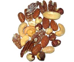 Salted Mixed Nuts  1x1.13kg Tub