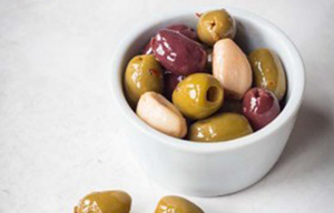 Chilli & Garlic Olives - 2x2.9kg