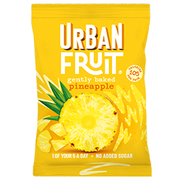 Urban Fruit - Pineapple Snack Pack - 14x35g