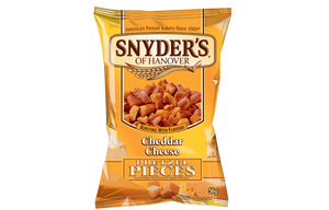 Snyders Pretzels - Cheddar Cheese - 30x56g