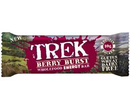 Trek Protein Bars - Berry Burst - 16x55g