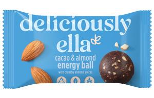 Deliciously Ella Energy Ball - Cacao & Almond - 12x40g