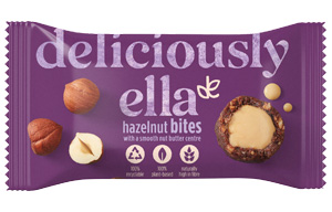 Deliciously Ella Nut Butter Balls - Hazelnut - 12x36g