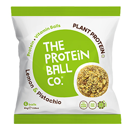 The Protein Ball Co - Lemon & Pistachio - Bags - 10x45g