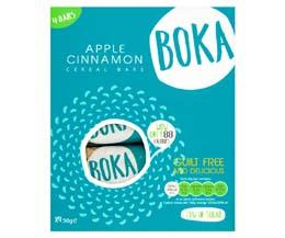 Boka Bar - Multipack - Apple & Cinnamon - 12x4x30g