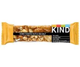 Kind Bar - Roasted Honey Nuts & Sea Salt - 12x40g