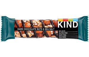 Kind Bar - Dark Chocolate, Nuts & Sea Salt - 12x40g