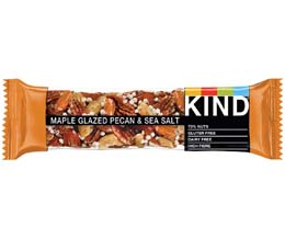 Kind Bar - Glazed Pecan & Sea Salt - 12x40g