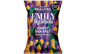 Emily Crisps - Sweet Potato Sticks With Sea Salt - 12x35g