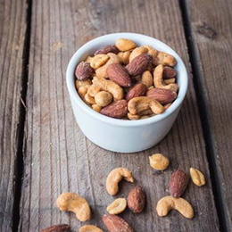 Nibblers - Smoked Mixed Nuts - 3x1kg BOX