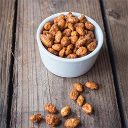 Nibblers - Caramelised Chilli Honey Peanuts - 3x1kg BOX