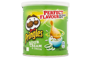 Pringles - Sour Cream & Onion - 12x40g