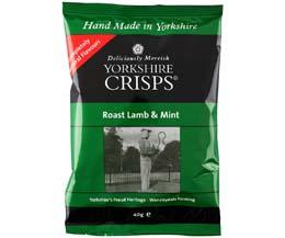 Yorkshire Crisp - Roast Lamb & Mint - 24x40g