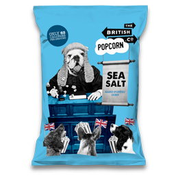 British Popcorn - Slightly Salted - 24x25g