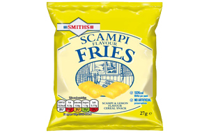 Smiths - Scampi Fries - 24x27g Card