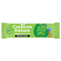 Creative Nature - Protein - Apple Pie Flapjack - 16x40g