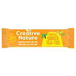 Creative Nature - Detoxing - Ginger Teatox Flapjack - 20x38G