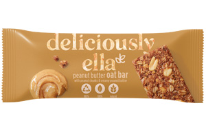 Deliciously Ella Oat Bar - Peanut Butter - 16x50g