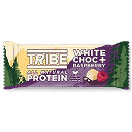 Tribe - Vegan Protein - White Choc & Raspberry - 16x46g