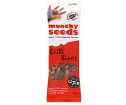 Munchy Seeds - Chilli Bites - 12x25g