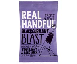 Real Handful - Trail Mix - Blackcurrant Blast - 12x35g