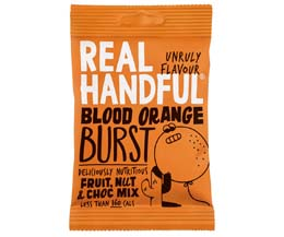 Real Handful - Trail Mix - Blood Orange Burst - 12x35g