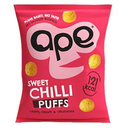 Ape Coconut & Rice Puffs - Thai Chilli - 24x25g
