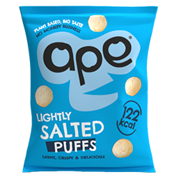 Ape Coconut & Rice Puffs - Salted - 24x25g