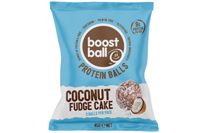 Boost Ball - Coconut Fudge Cake - 12x42G