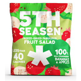 5Th Season - Freeze Dried Bites - Fruit Salad - 6x11G