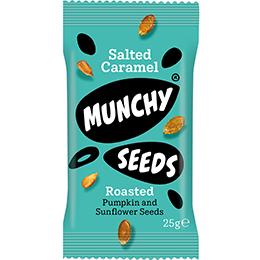 Munchy Seeds - Salted Caramel - 12x25g