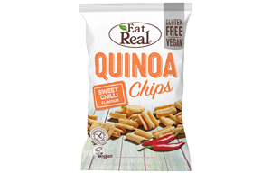Eat Real - Quinoa Chips - Sweet Chilli - 12x30g