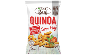 Eat Real - Quinoa & Corn Puff - Mediterranean - 12x40g
