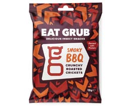 Eat Grub Crickets - Smoky Bbq - 12x12g