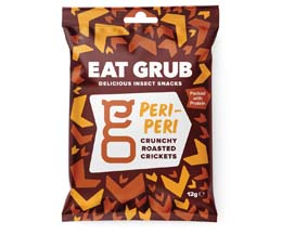 Eat Grub Crickets - Peri Peri - 12x12g