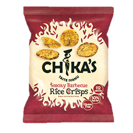 Chikas Rice Crisps - Smoky Barbecue - 16x25g
