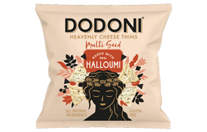 Dodoni Halloumi Mix Seed Thins - 10x22g