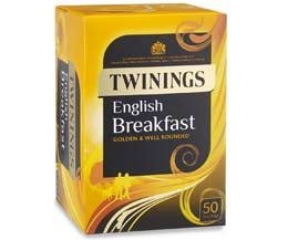 Twinings Enveloped - English Breakfast - 6x50