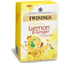 Twinings Enveloped - Lemon & Ginger - 12x20