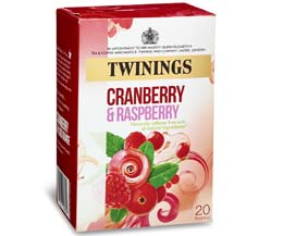Twinings Enveloped - Cranberry & Raspberry - 12x20