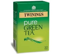 Twinings - Green Tea - Pure Green - 12x20 Env