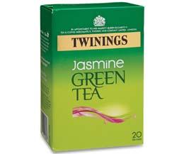 Twinings Enveloped - Jasmine Green Tea - 4x20
