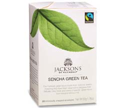 Jacksons Of Piccadilly Enveloped - F/T Sencha Green - 4x20