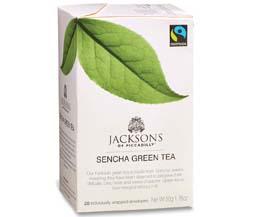 Jacksons Of Piccadilly Enveloped - F/T Sencha Green - 4x20