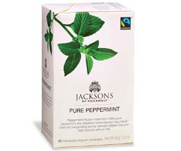 Jacksons Of Piccadilly F/T - Peppermint Tea  - Env - 4x20
