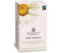 Jacksons Of Piccadilly Enveloped - F/T Pure Chamomile - 4x20